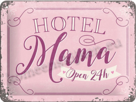 wand bord hotel mama 15-20 cm