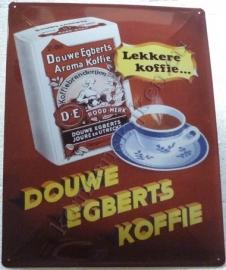 wandbord Douwe Egberts 30-40 cm