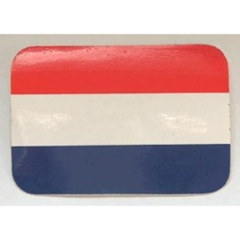 NL sticker nederlandse vlag 8,6 bij 6 cm