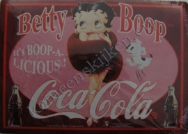 fridge magnet betty boop paars