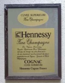 Hennessy cognac reclamespiegel