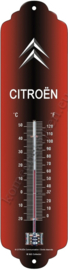 Metalen thermometer citroen logo