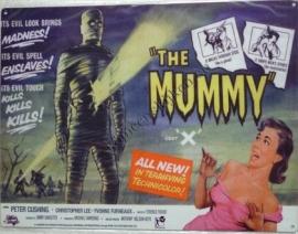 metalen affiche film The Mummy 30x40 cm