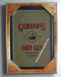 muurspiegel Gordon's  dry gin