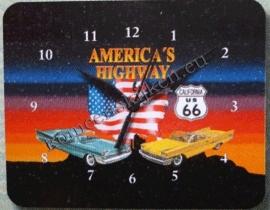 blikken klok america's highway