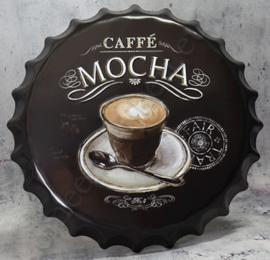 blikken kroonkurk caffe mocha 40 cm