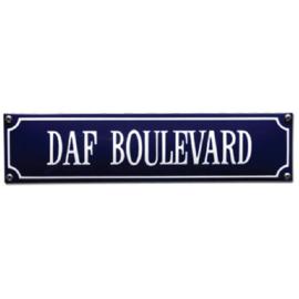 emaille straatnaambord daf boulevard