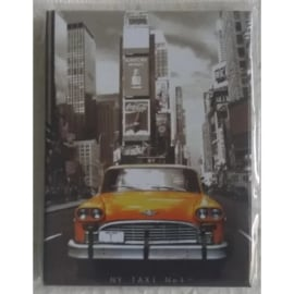 koelkastmagneet New York taxi
