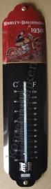 metalen thermometer harley davidson 1930