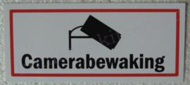 sticker camerabewaking 12,5 cm.