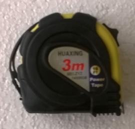 rolmaat 3 meter geel