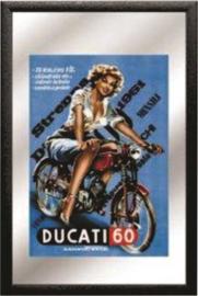 decoratie spiegel Ducati 60cc
