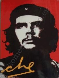 metalen wandplaat Che Guevara 30-40 cm
