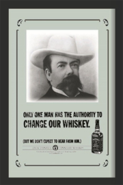 spiegel Jack Daniels only one man
