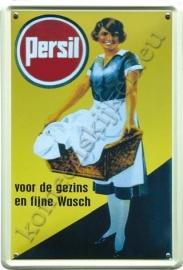 nostalgisch reclamebord persil / wasmand 30-40 cm