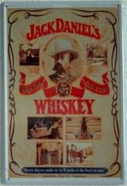 blikken wandplaat Jack Daniels 20-30 cm
