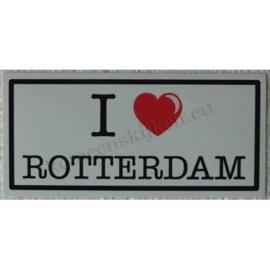 sticker I love ROTTERDAM