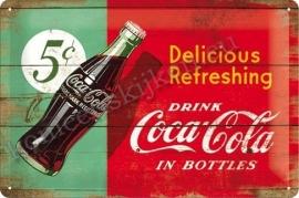 reclamebord coca cola bottles 20-30 cm