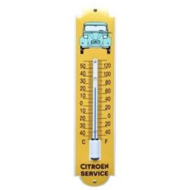 emaille thermometer citroen 2CV / eend