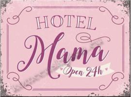 Roze koelkast magneet hotel mama