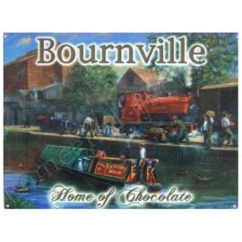 metalen wandplaat bournville 30-40 cm