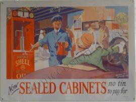 wandplaat shell sealed cabinets 30-40 cm