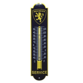 emaille thermometer peugeot