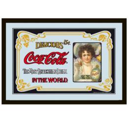 Klassieke Coca Cola spiegel