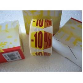retif sticker rol 500 stuks -10%