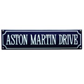 emaille straatnaambord aston martin drive