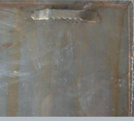 metalen kalender harpers, windhond 30-25 cm.