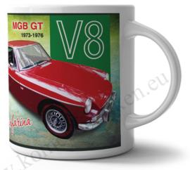 koffiemok MGB GT V8