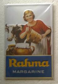 metalen wandplaat Rahma margarine 20x30 cm