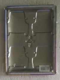 metalen wandbord Citroën 2CV Andy Warhol 15x20 cm