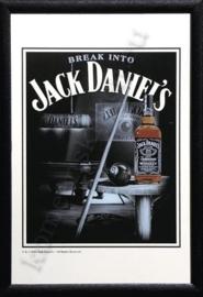 reclame spiegel break into jack daniels