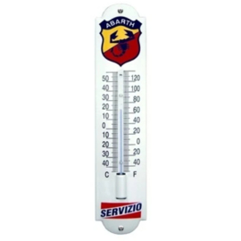 emaille thermometer Abarth