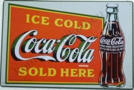 coca cola classic bottle 29,5-44,5 cm