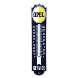 emaille thermometer opel