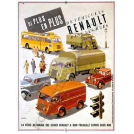 metalen bord de vehicules Renault 15-20 cm