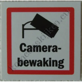 mini sticker camerabewaking 5 cm.