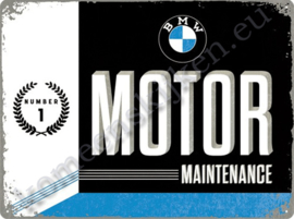 wall sign bmw motor maintenance 30-40 cm