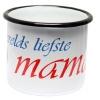 emaille mok s'werelds liefste mama
