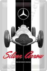 koelkastmagneet mercedes-benz silver arrow