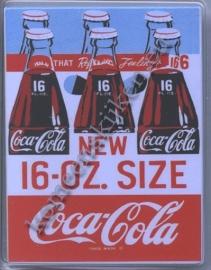 koelkast magneet coca cola 16 OZ