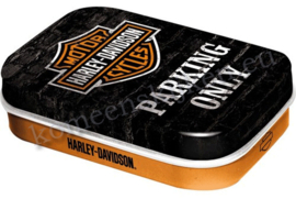 mint box harley davidson parking