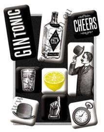 magneetset gin tonic, cheers