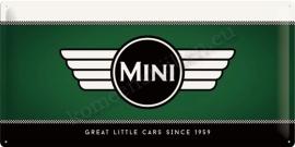 metalen wandbord Mini 25-50 cm