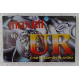 cassettebandje maxwell UR 90