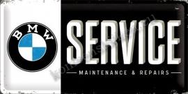 metalen wandbord bmw service 25-50 cm