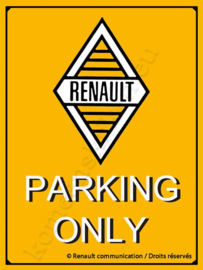 koelkastmagneet renault parking only